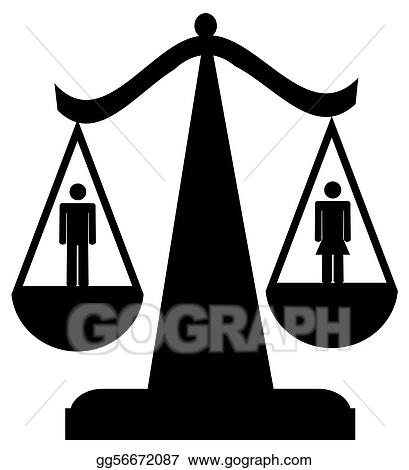 drawing sexual equality clipart drawing gg56672087 gograph rh gograph com racial equality clipart clipart equality