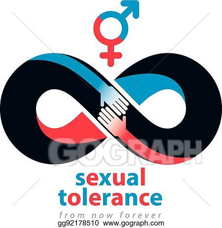 Vector Art Sexual Tolerance Hetero And Homosexuals Conceptual