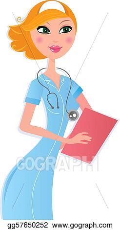 Sexy nurse clipart
