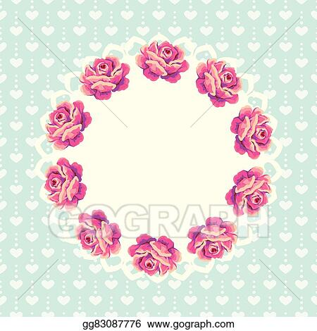 Vector shabby chic flower cliparts | Pre-Designed Illustrator Graphics ~  Creative Market