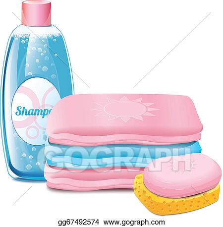 clip art vector shampoo soap towel stock eps gg67492574 gograph rh gograph com shampoo clipart png shampoo clip art free