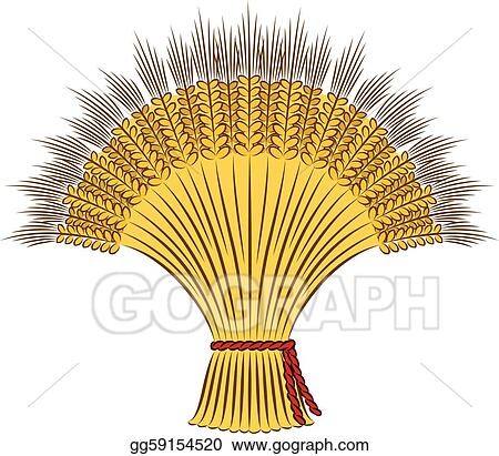 Sheaf Of Wheat Cliparts, Stock Vector And Royalty Free Sheaf Of Wheat  Illustrations
