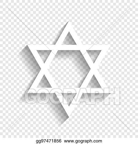 Eps Vector Shield Magen David Star Symbol Of Israel Vector