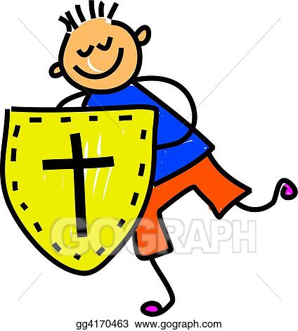 drawing shield of faith clipart drawing gg4170463 gograph rh gograph com faith clip art free faith clipart pictures