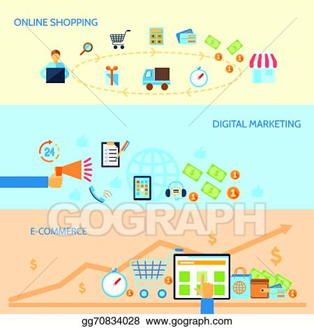 Ecommerce Marketing Banners Digital Literacy Banners