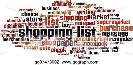 shopping list horizoneps