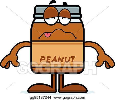 Abeka | Clip Art | Peanut Butter Jar—with blue lid