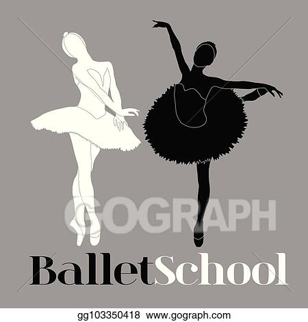Ballet clipart black and white, Ballet black and white Transparent FREE for  download on WebStockReview 2020