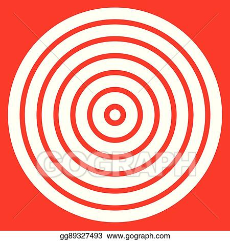 image about Printable Bullseye Target identify Vector Artwork - Basic basic in the direction of print aim mark with bullseye