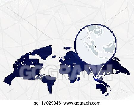 Vector Stock - Singapore detailed map highlighted on blue ... on south africa on world map, democratic republic of congo on world map, india on world map, yangtze river on world map, thailand on world map, mecca on world map, middle east on world map, perth on world map, israel on world map, hong kong on world map, beijing on world map, kenya on world map, cape of good hope on world map, japan on world map, libya on world map, australia on world map, dubai on world map, shenzhen on world map, new guinea on world map, spain on world map,