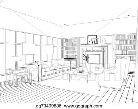House With Living Room