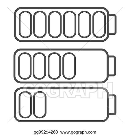 Clip Art Smartphone Or Cell Phone Low Battery Icon Low Energy