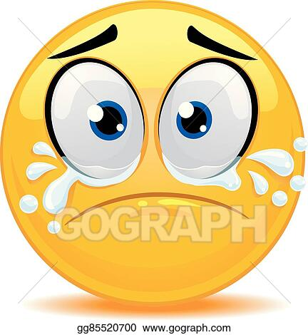 Crying Smiley Face Clipart Free - Clip Art Bay