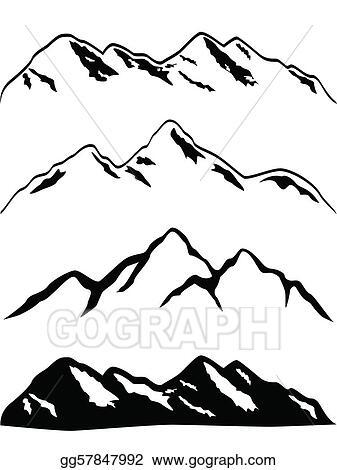 Mountains Clip Art Royalty Free Gograph
