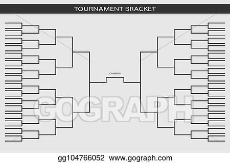 Vector Art Soccer Baseball Tournament Bracket For Your Design
