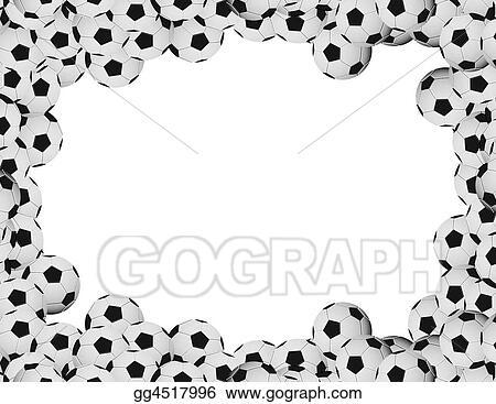 Stock Illustrations - Soccer frame. Stock Clipart gg4517996 - GoGraph