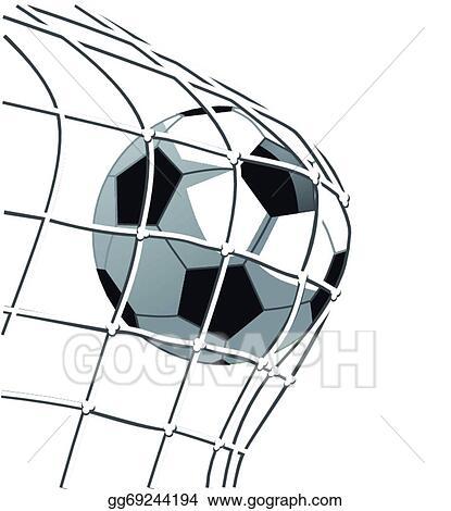 vector stock soccer goal clipart illustration gg69244194 gograph rh gograph com soccer ball and goal clipart soccer goal clipart