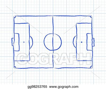 soccer pitch graph paper_gg98253765 clip art vector soccer pitch graph paper stock eps gg98253765