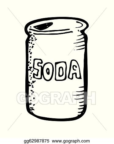 vector art soda can drink clipart drawing gg62987875 gograph rh gograph com red soda can clipart soda can clipart png