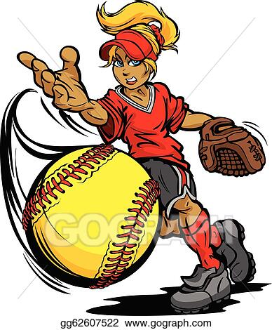 softball clip art royalty free gograph rh gograph com clipart softball field clipart softball girl