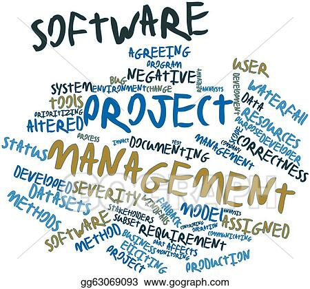 Drawing - Software project management. Clipart Drawing gg63069093 ...