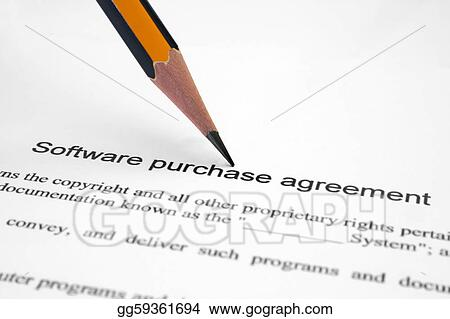 Drawing Software Purchase Agreement Clipart Drawing Gg59361694