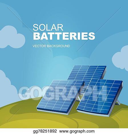 Vector Art - Solar panel  Clipart Drawing gg78251892 - GoGraph