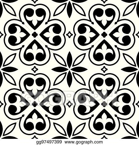 Art Tile Design Drawing