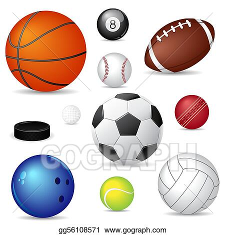 Ball Clip Art - Royalty Free - GoGraph Xmas Clip Art Free Golf Cart Html on