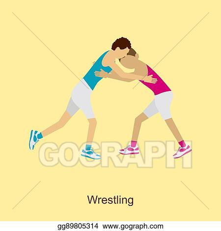 Png Freeuse Stock Wrestler Clipart Wrestling Tournament - Cartoon Images Of  Wrestlers , Free Transparent Clipart - ClipartKey