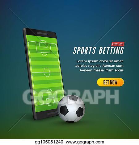 Eps Illustration Sports Betting Online Web Banner Template