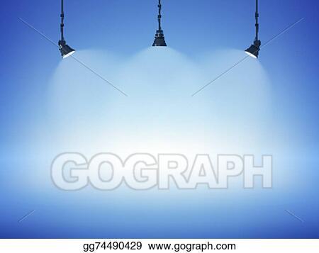 Vector Art Spot Light Background Clipart Drawing Gg74490429