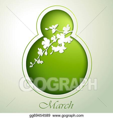 Stock illustration spring flowers invitation template card 8 spring flowers invitation template card 8 march mightylinksfo