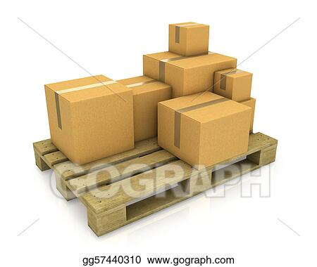 Stacked Boxes Clipart