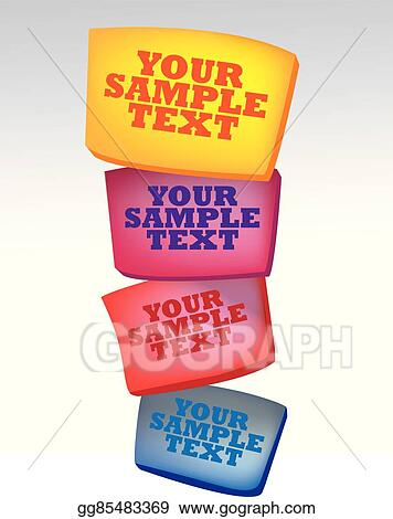 vector art stacked boxes playful abstract vector background