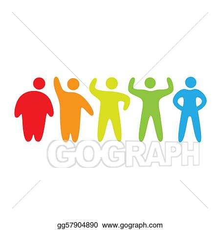 stock illustration stages of weight loss clipart gg57904890 gograph rh gograph com weight loss clipart pictures losing weight clipart