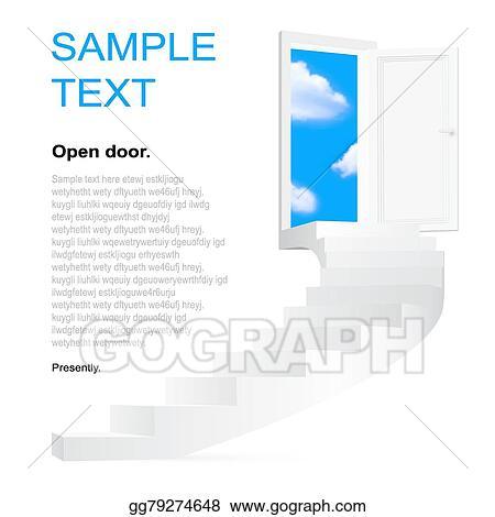 Stairway to heaven pop art vector Clipart   k52549582   Fotosearch