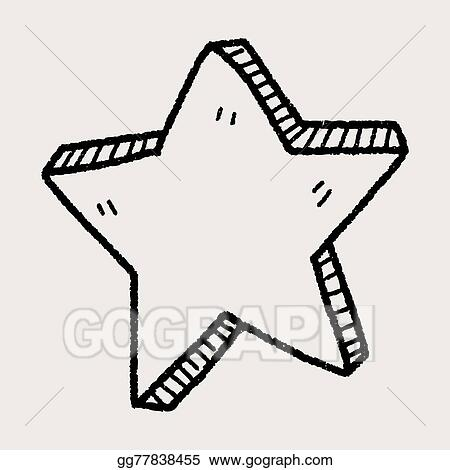 Vector Clipart Star Doodle Vector Illustration Gg77838455 Gograph Png svg eps pdf dxf. https www gograph com clipart license summary gg77838455