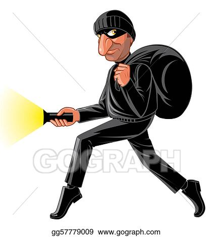 drawing stealthy thief clipart drawing gg57779009 gograph