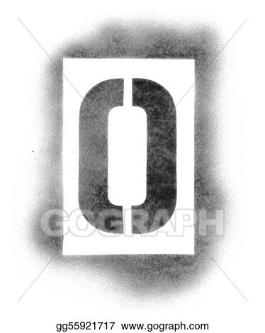 Stock Image Stencil Letters In Spray Paint Stock Photo