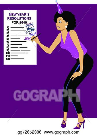 New Year's Wishes 2015 Clip Art
