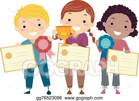Children Marching Clipart