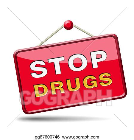 clip art stop drug abuse stock illustration gg67600746 gograph rh gograph com Drug Laws Drug Addiction Art