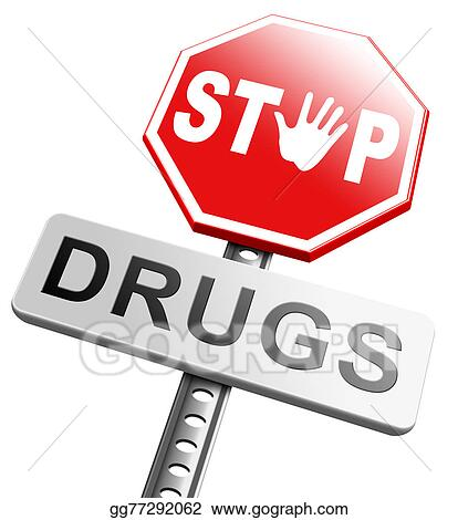 clip art stop drug addiction stock illustration gg77292062 gograph rh gograph com drugs abuse clip art drugs abuse clip art