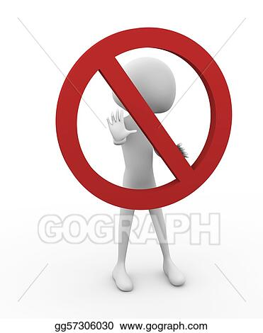 Stock Illustration Stop It Clip Art Gg57306030 Gograph