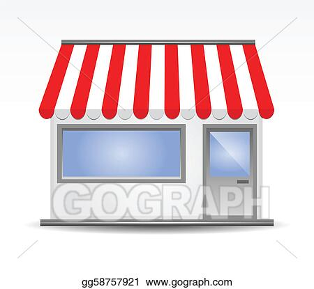 storefront clip art royalty free gograph rh gograph com boutique storefront clipart storefront window clipart