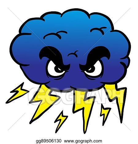vector stock storm cloud clipart illustration gg89506130 gograph rh gograph com storm cloud clipart storm cloud clipart