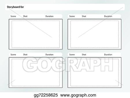 Illustrator Storyboard Template Gallery Template Design Free Download