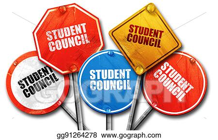 stock illustrations student council 3d rendering street signs rh gograph com  student council clipart