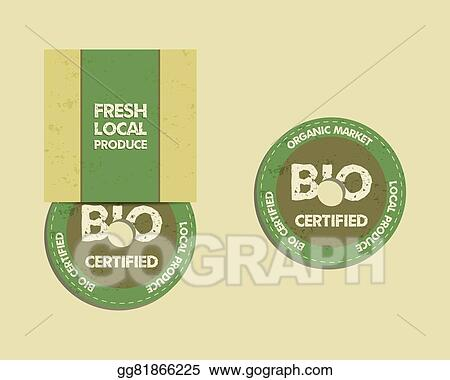 eps illustration stylish farm fresh cd and dvd disc templates with